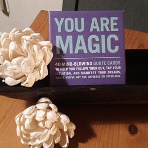 YOU ARE MAGIC 4O EMPOWERING QUOTE CARDS